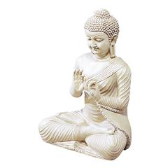 Polystone Buddha Makes The Spot Eye-Catching And Influencing