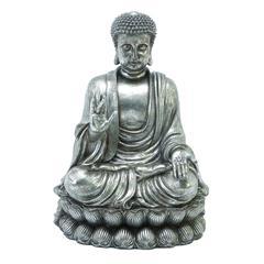 Benzara Polystone Buddha 16 Inches Wide