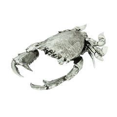 Benzara Silver Crab Classy Home Decor