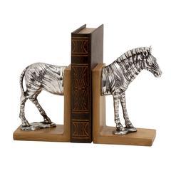 Benzara Horse Polystone Bookend Polyresin