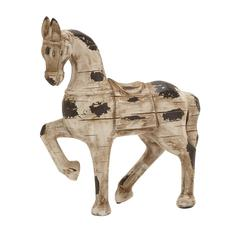 Antique And Regal Polystone Horse