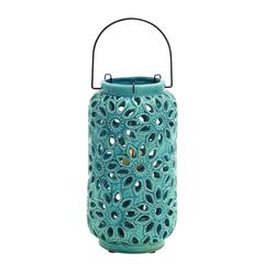 Benzara Bright Contemporary Styled Ceramic Lantern