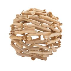 Benzara The Different Driftwood Deco Ball