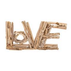 Benzara The Eternal Driftwood Love