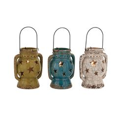 The Exquisite Ceramic Lantern 3 Assorted