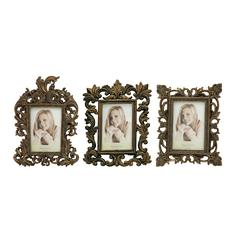 Exquisite Polystone Photo Frame 3 Assorted