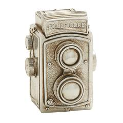 Benzara Antique Themed Silver Camera Décor