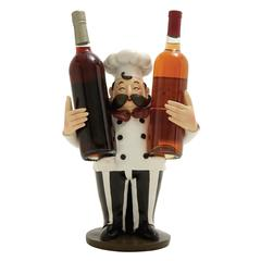 Benzara Remarkable Chef Wine Holder