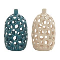 Benzara Beautiful Ceramic Vase 2 Assorted