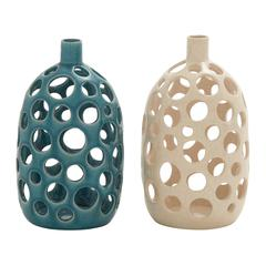 Benzara Arty And Classy Ceramic Vase 2 Assorted