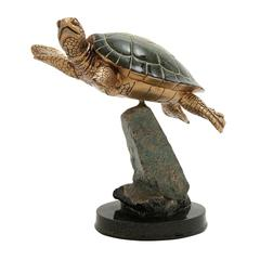 Benzara Elegantly Designed Turtle Figurine