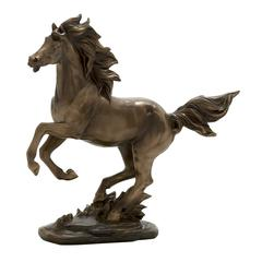 Benzara Wonderfully Crafted Horse Figurine