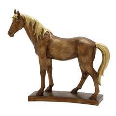 Benzara Robust & Exceptional Medium Horse Décor