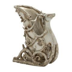Magnificent Silver Sleigh Wine Holder
