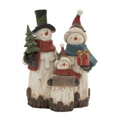 Attractively Crafted Snowmen Family
