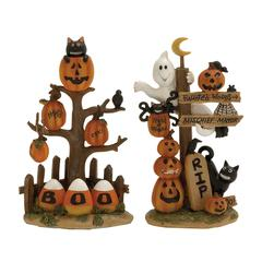 Benzara Captivating 2 Assorted Halloween Sign
