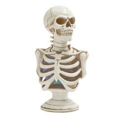 Benzara Led Skeleton Bust Décor