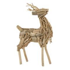 Impressive Driftwood Deer