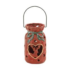 Lovely Ceramic Metal Xmas Lantern