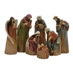 Benzara Set Of 7 Outstanding Nativity