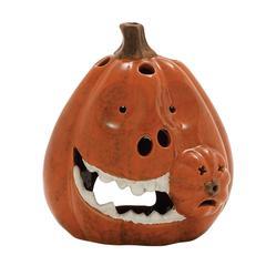 Benzara Quirkily Cool Ceramic Pumpkin
