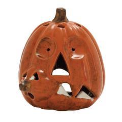 Benzara Artistic Ceramic Pumpkin