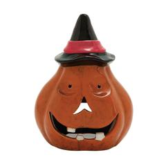 Benzara Cute And Colorful Ceramic Pumpkin