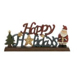 Multicolored Exquisite Xmas Table Sign