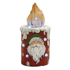 Unique Led Santa Candle