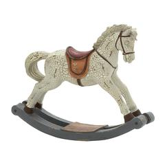 Benzara Terrifically Designed Rocking Horse Figurine