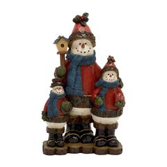 Benzara Finely Crafted Snowmen Family
