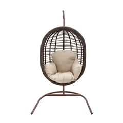 The Lovely Metal Rattan Swing