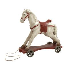 Attention-Grabbing Horse On Wheels Décor