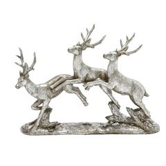 Benzara Scintillating Deer Sculpture