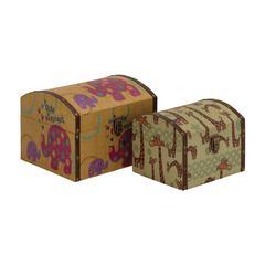 Mesmerizing Styled Wood Canvas Box