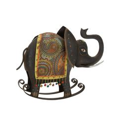 Beautiful Well Designed Metal Rocking Elephant