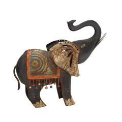 Contemporary Styled Fantastic Metal Elephant