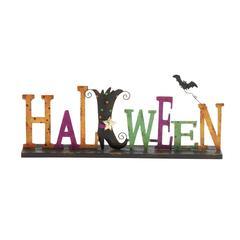 Salient Metal Halloween Sign
