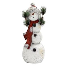 Benzara Endearingly Designed Snowman Décor