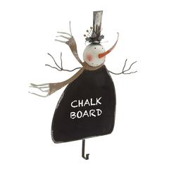 Benzara Stylish And Classy Metal Snowman Wall Hook