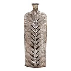 Customary Styled Fancy Metal Vase