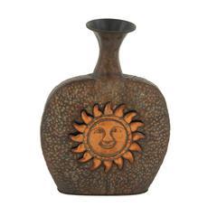 Classic Metal Sun Vase