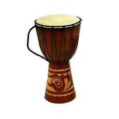 Wood Leather Djembe Drum Djembe Toca Wood / Leather