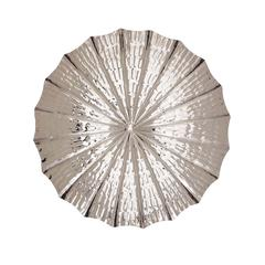 Benzara The Fine Stainless Steel Wall Platter