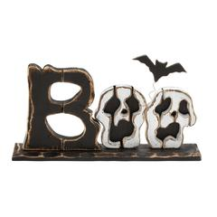 Interesting Sitting Halloween Boo Décor
