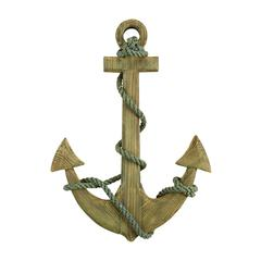 Wood Anchor Sensible Nautical Decor