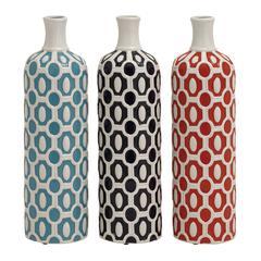 Stunning And Unique Ceramic Vase 3 Assorted