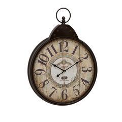 Benzara Fascinating Styled Berlin Metal Wall Clock