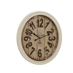 Buckingham Contemporary Styled Metal Wall Clock