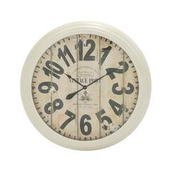 Appealing And Antique Styled Metal Wall Clock